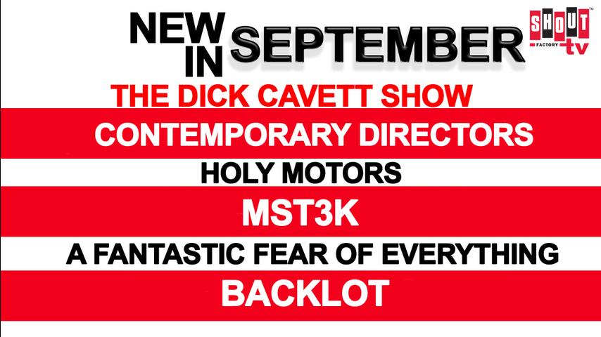 New In September!