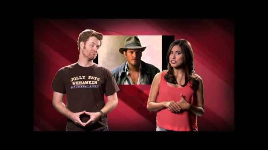 Chris Pratt as Indy! Ghostbusters! Coffee Town! - Your Weekly Shout Out! Episode 64
