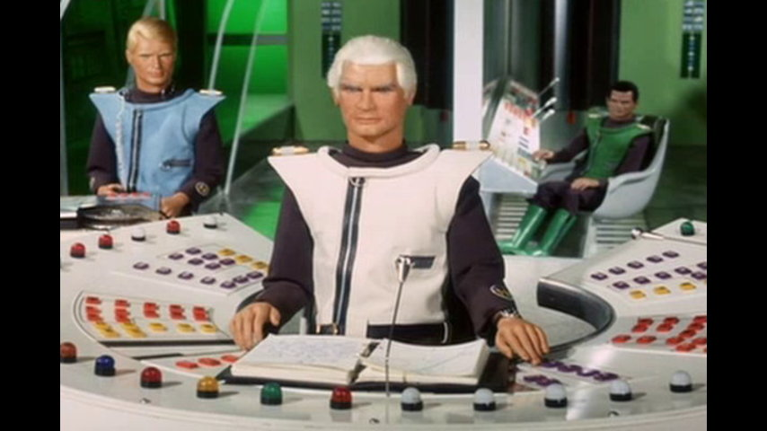 Captain Scarlet And The Mysterons: S1 E3 - Big Ben Strikes Again