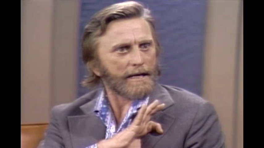The Dick Cavett Show: Hollywood Greats - Kirk Douglas (June 29, 1971)