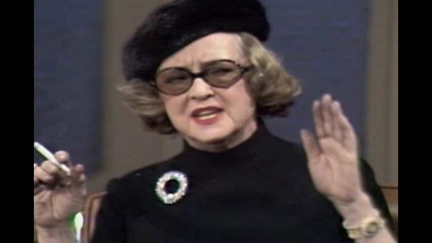 Hollywood Greats: November 17, 1971 Bette Davis