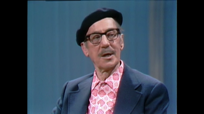 Hollywood Greats: December 16, 1971 Groucho Marx