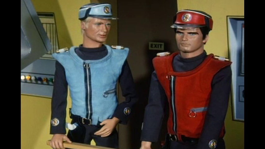 Captain Scarlet And The Mysterons: S1 E18 - Shadow Of Fear