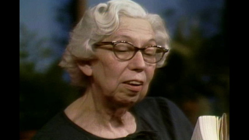 Authors: May 19, 1979 Eudora Welty Pt. 1