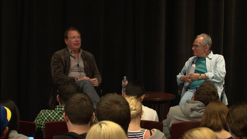 Backlot: Garry Shandling: USC Lecture