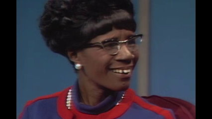 The Dick Cavett Show: Black History Month - Shirley Chisholm (August 8, 1969)