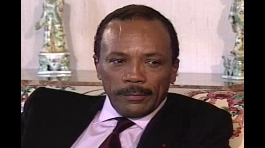 Black History Month: February 28, 1991 Quincy Jones