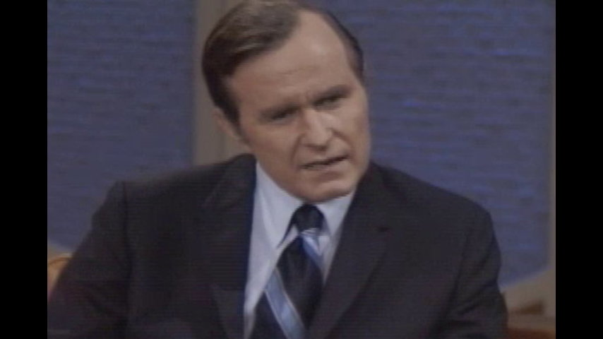 The Dick Cavett Show: Politicians - George H. W. Bush (October 29, 1971)