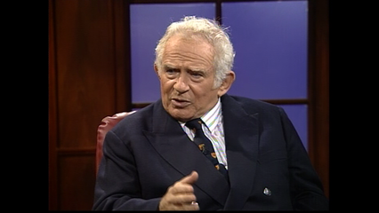 Authors Part 2: October 18, 1991 Norman Mailer Pt. 1