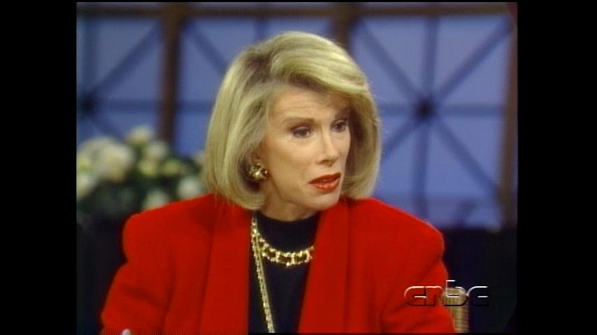 Comic Legends: December 6, 1991 Joan Rivers