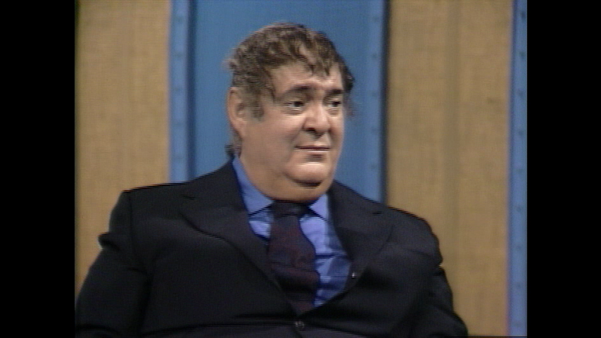 The Dick Cavett Show: Comic Legends - Zero Mostel (January 1, 1971)