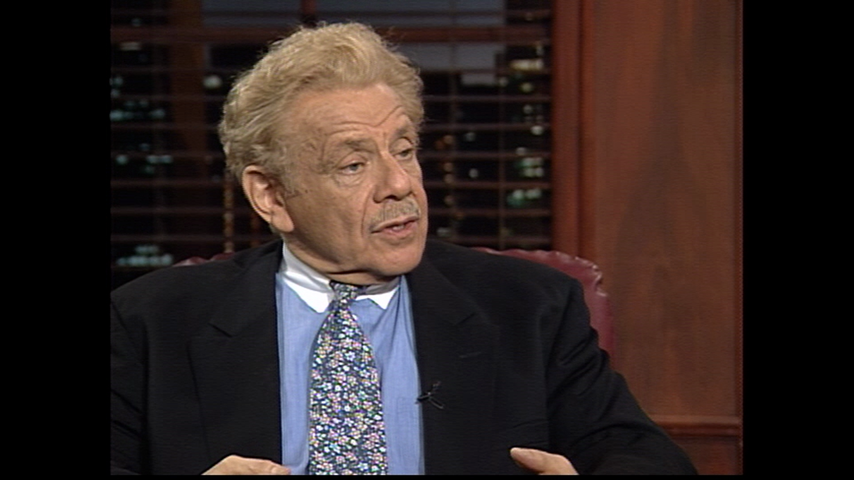 The Dick Cavett Show: Comic Legends - Jerry Stiller (March 18, 1995)