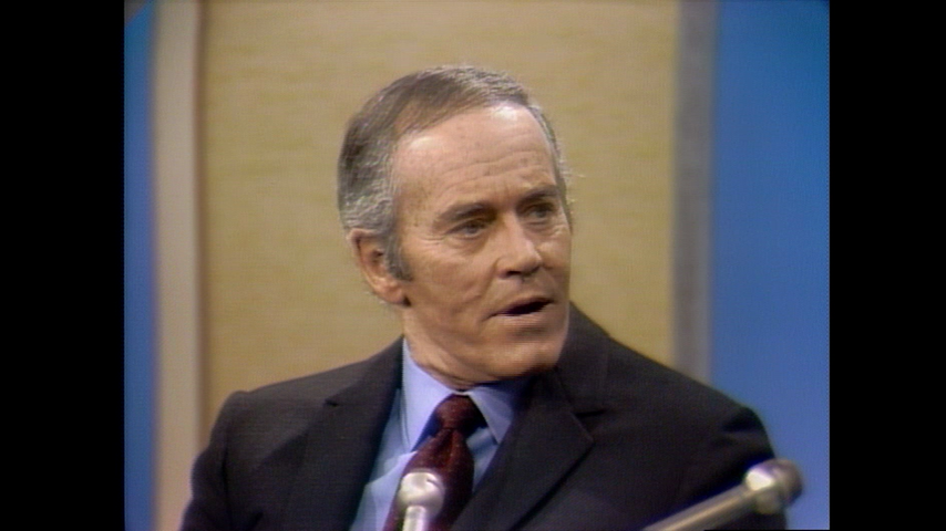 The Dick Cavett Show: Oscar Winners - Henry Fonda (December 20, 1969)