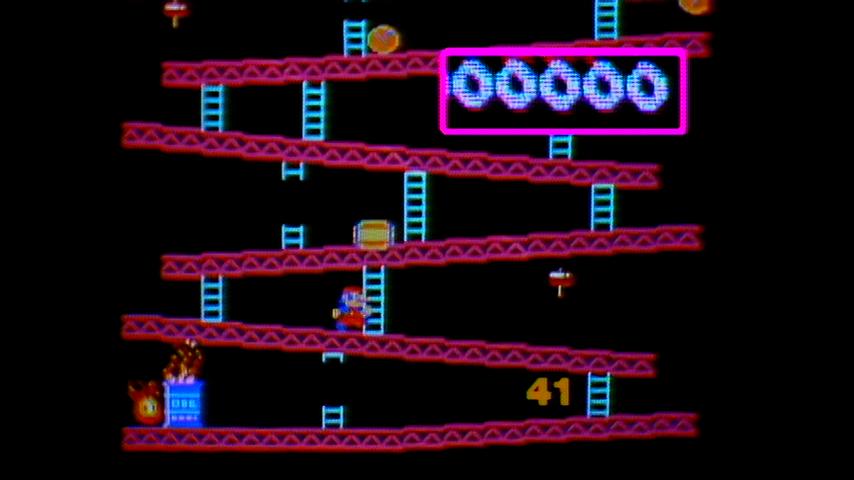 Donkey Kong, Donkey Kong Jr., Pac-Man