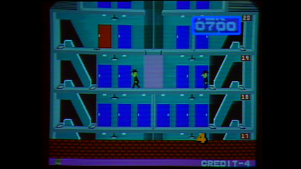 Donkey Kong 3, Elevator Action, Juno First