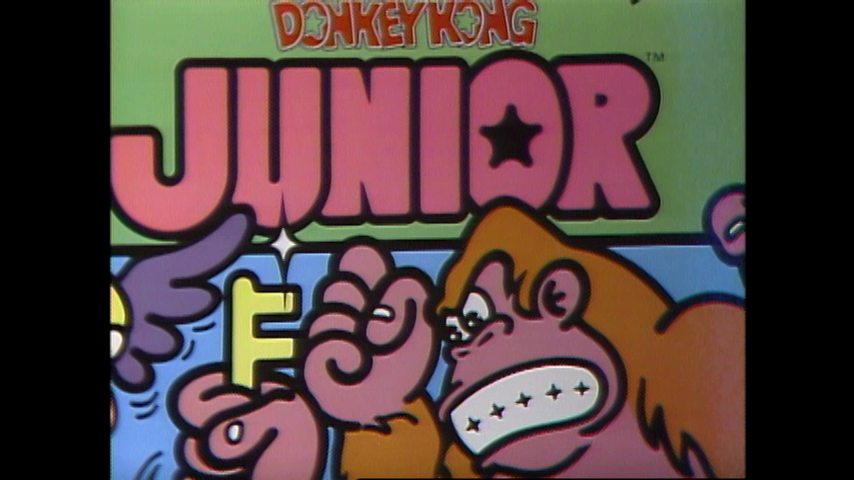 Donkey Kong Jr., Pac Man, Super Pac Man