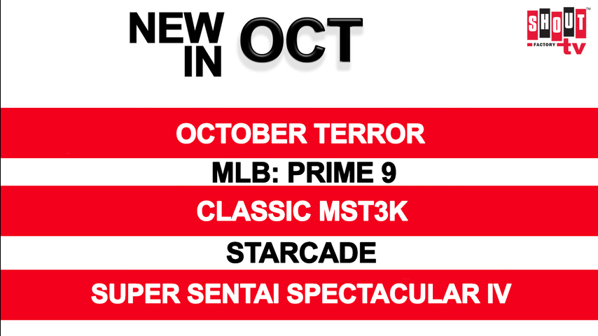 New In October!