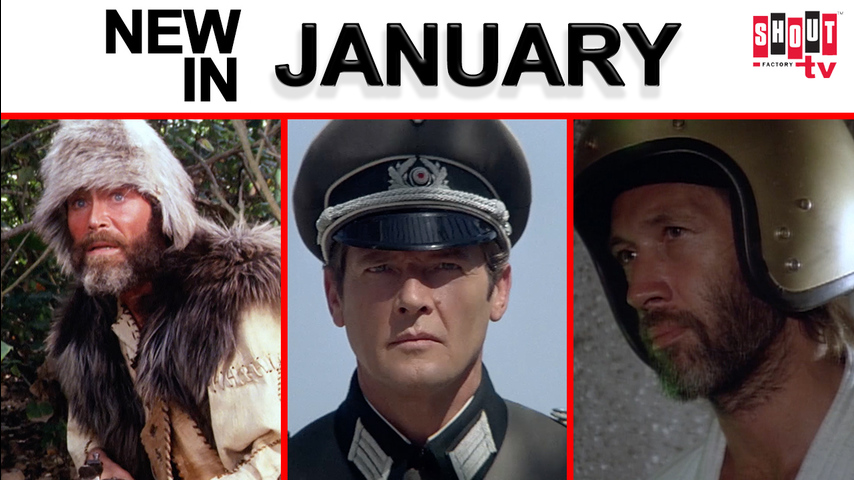 Over Sixty Classic Films! Now Streaming in January on Shout! Factory TV