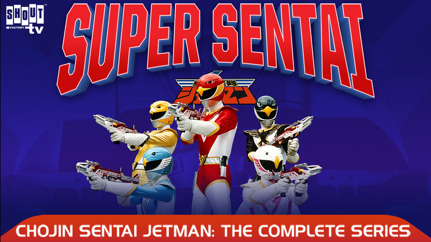 Chojin Sentai Jetman: S1 E25 - The Laughing Shadow-People