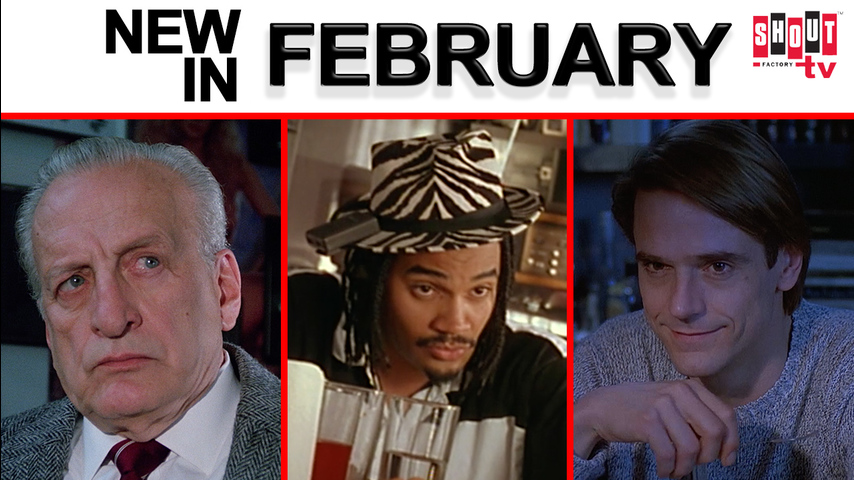 New In February on Shout! Factory TV