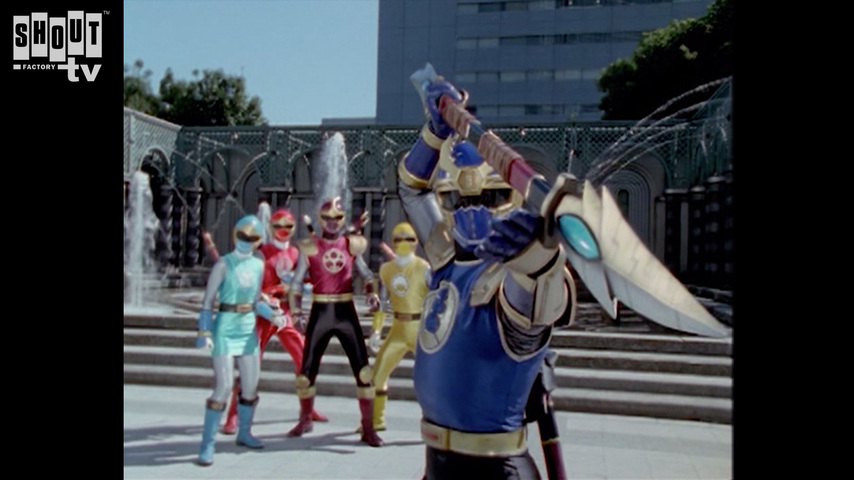 Ninpuu Sentai Hurricaneger: Scroll 38: Demon Sword And Balloons