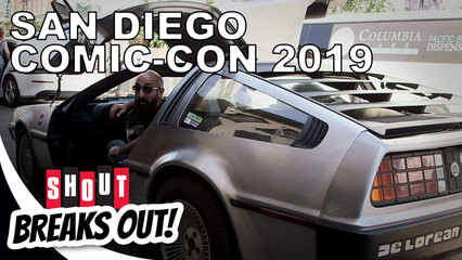 Shout! Breaks Out!: San Diego Comic-Con 2019
