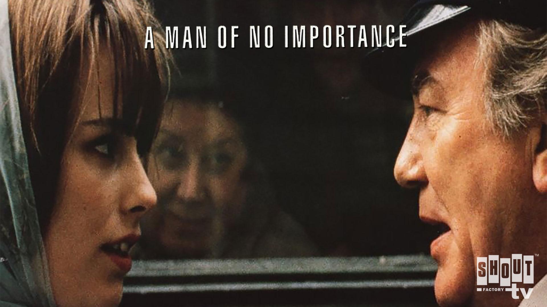 A Man Of No Importance