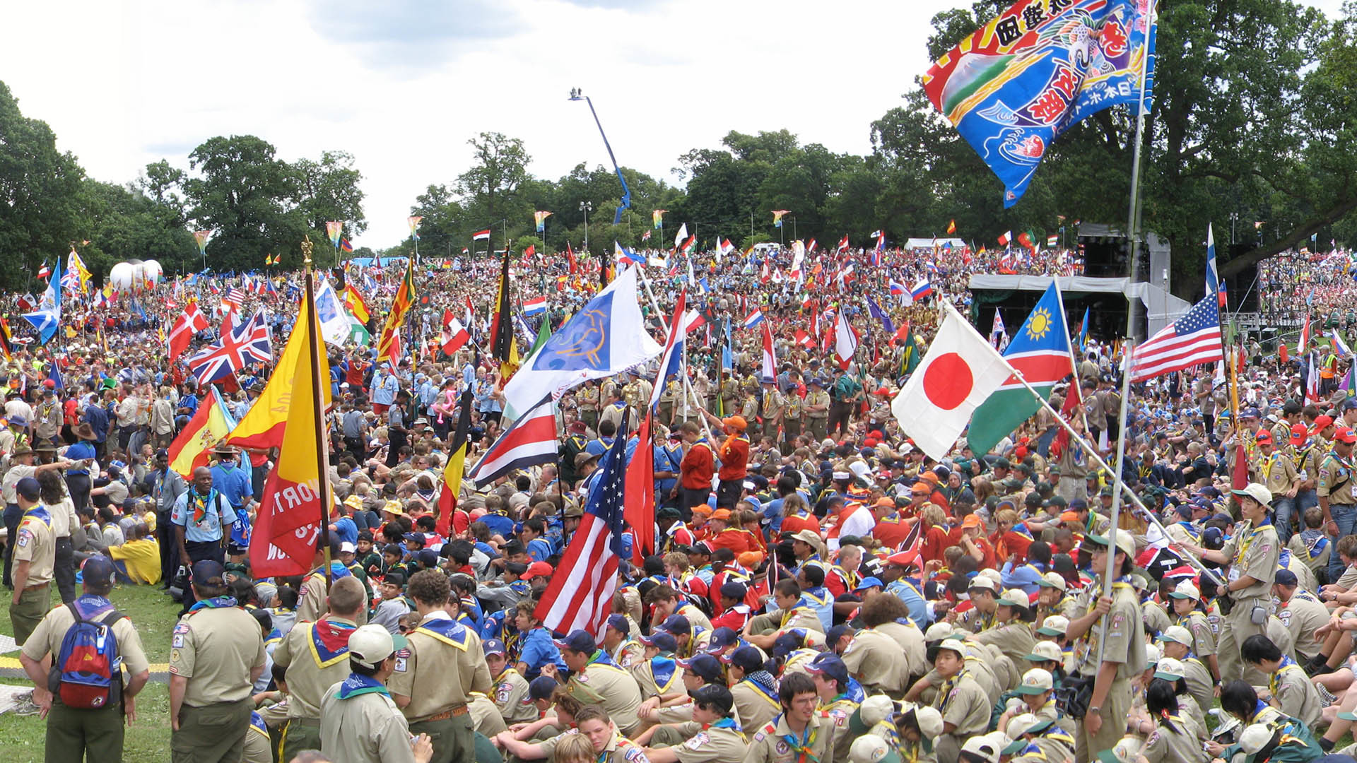 Condoms Required for World Scout Jamboree
