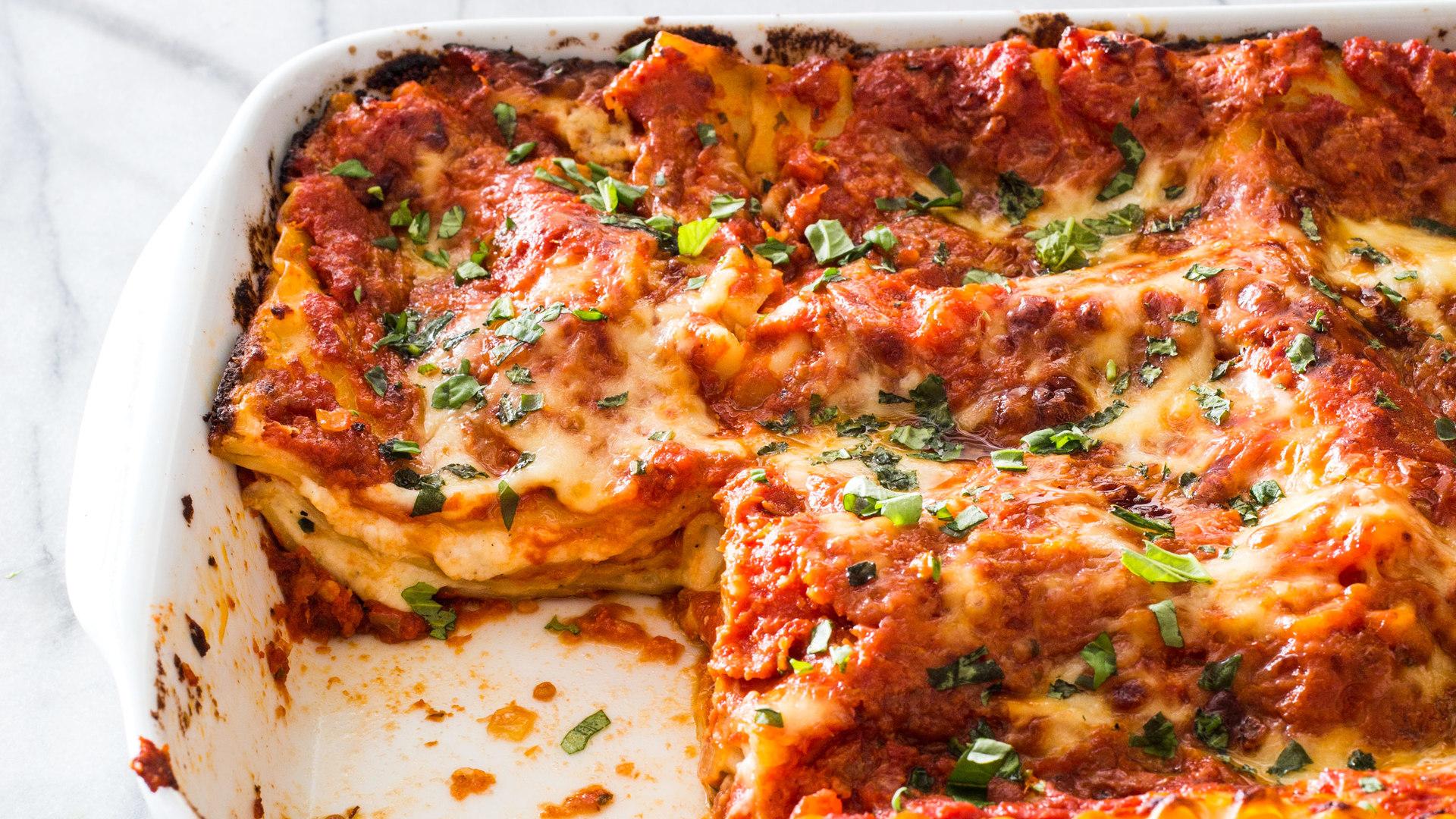 Cool Perfecting Cheese Lasagna Home Interior And Landscaping Ologienasavecom