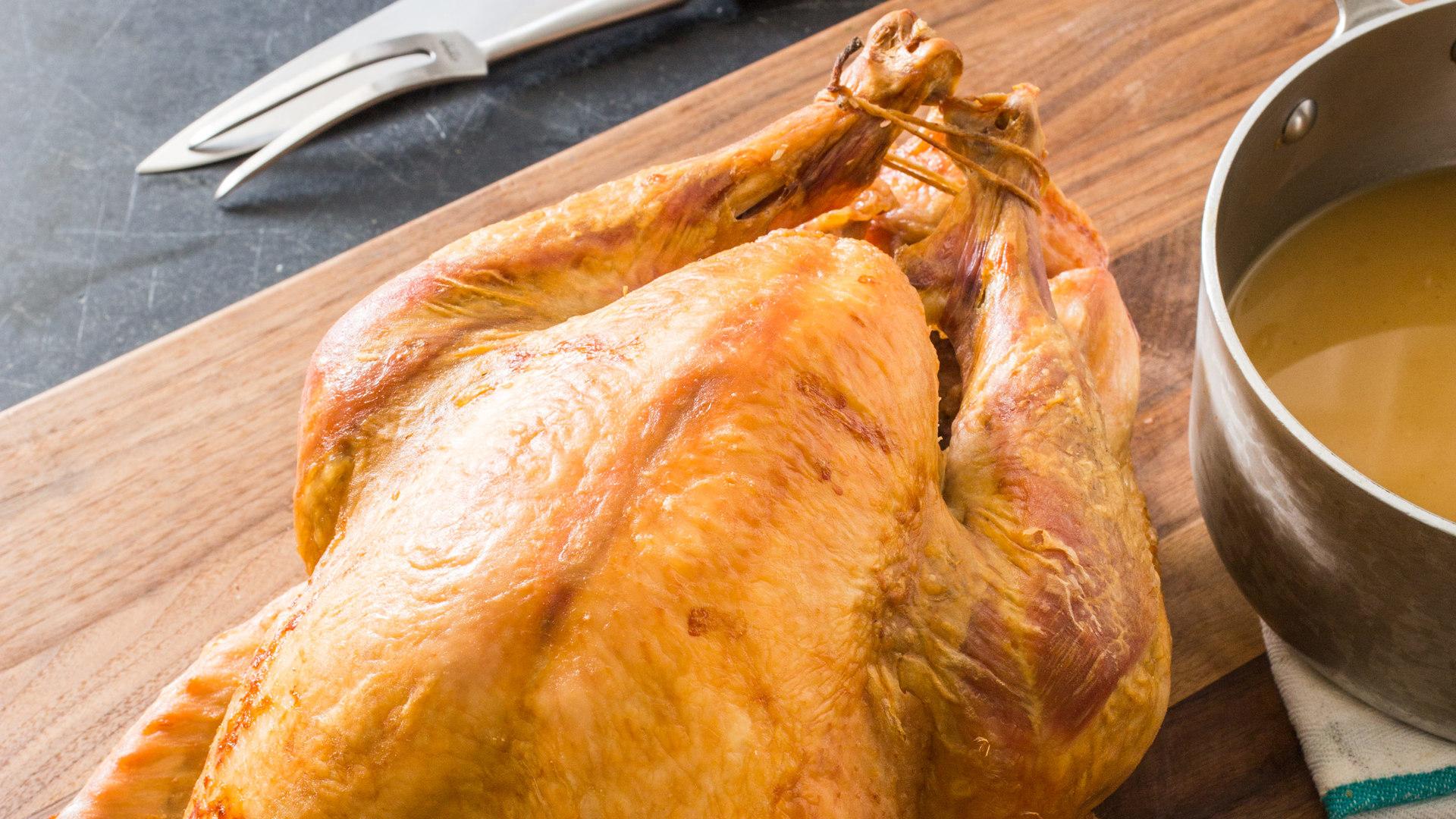 Easier Roast Turkey And Gravy Cook S Illustrated