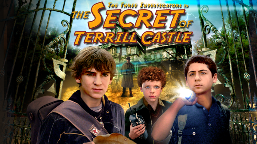 The Three Investigators in The Secret of Terrill Castle