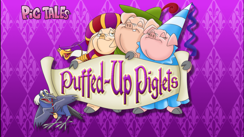 Pig Tales - Puffed Up Piglets