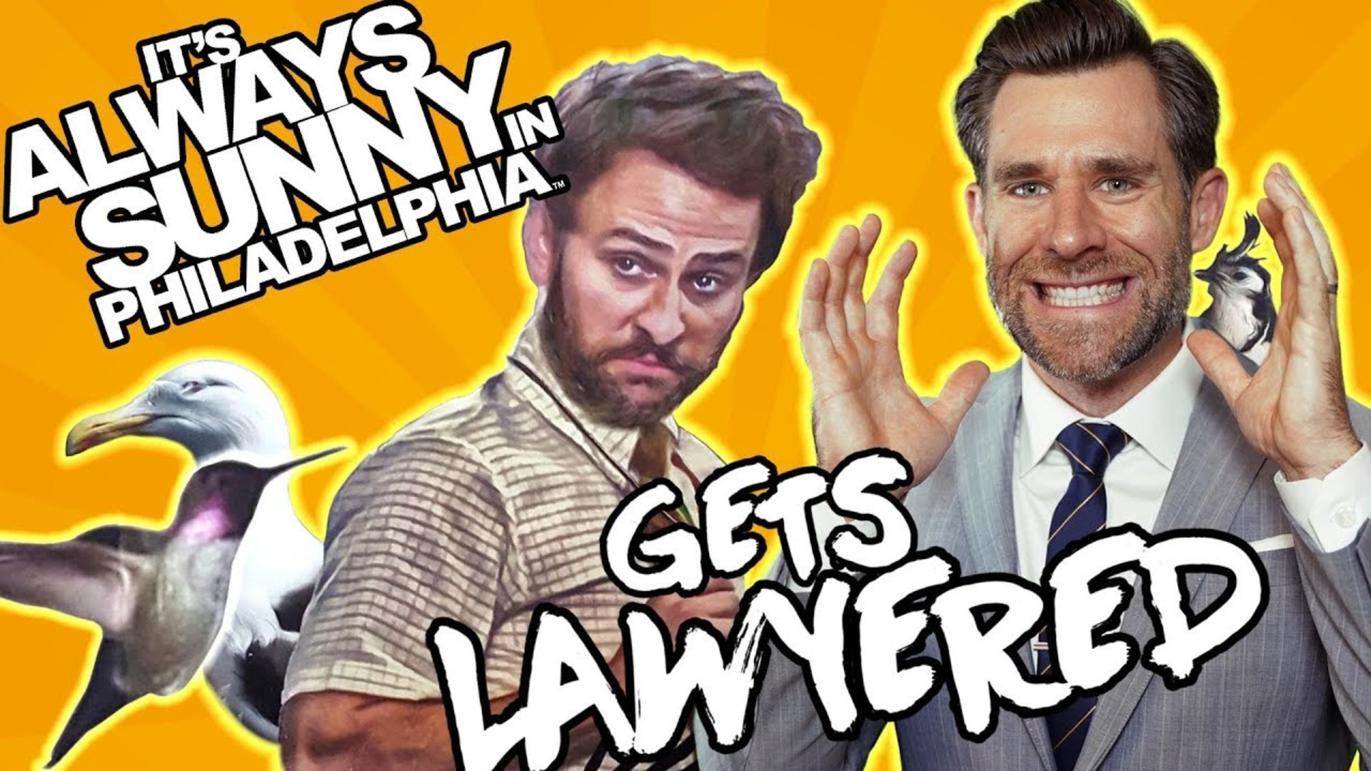 Always Sunny In Philadelphia Clips real lawyer reacts to it's always sunny in philadelphia