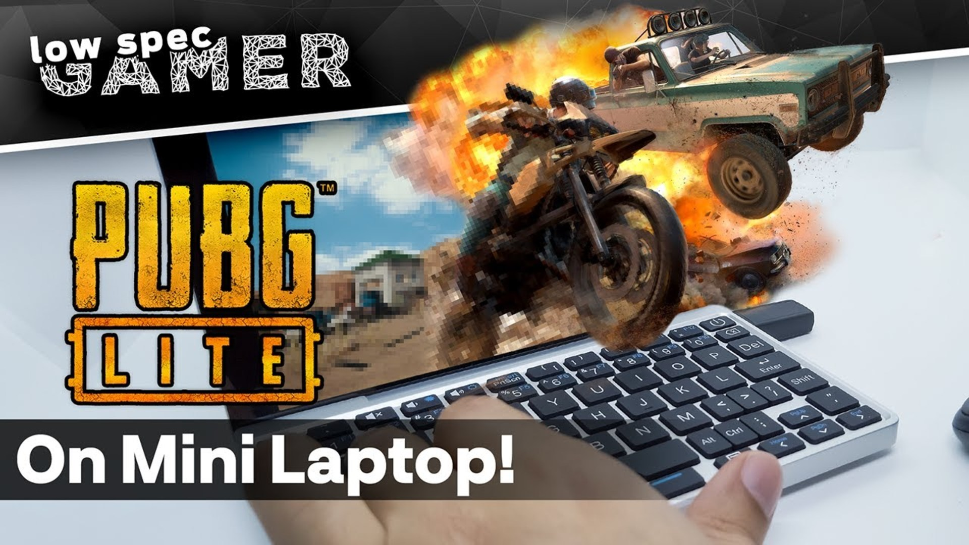 PUBG on an Intel ATOM Laptop? The magic of PUBG Lite PC