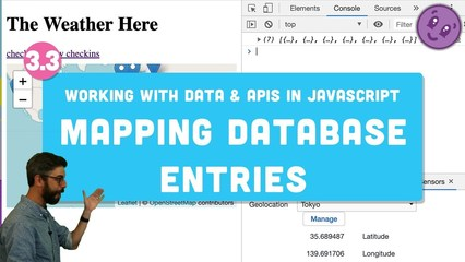 3 3 Mapping Database Entries with Leaflet js - Working with Data and