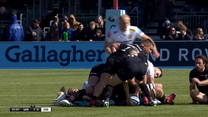 Saracens Men 38-7 Exeter Chiefs (Round 21)