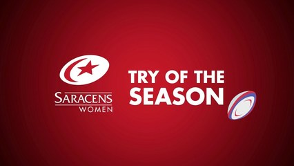Saracens Women try of the season shortlist (2018/19)
