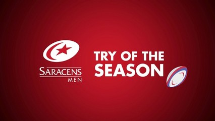 Saracens Men's Try Of The Season Shortlist (2018/19)
