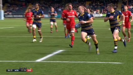 Worcester Warriors 31-29 Saracens (Round 22)
