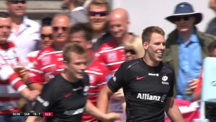 Saracens Men 44-19 Gloucester Rugby  (Premiership Semi-Final)