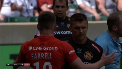 Saracens Men 37-34 Exeter Chiefs (Premiership Final)