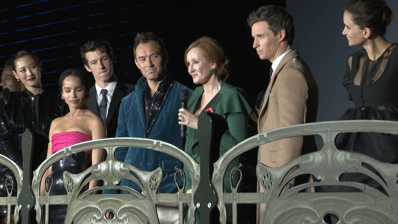 Fantastic Beasts: The Crimes of Grindelwald Premiere