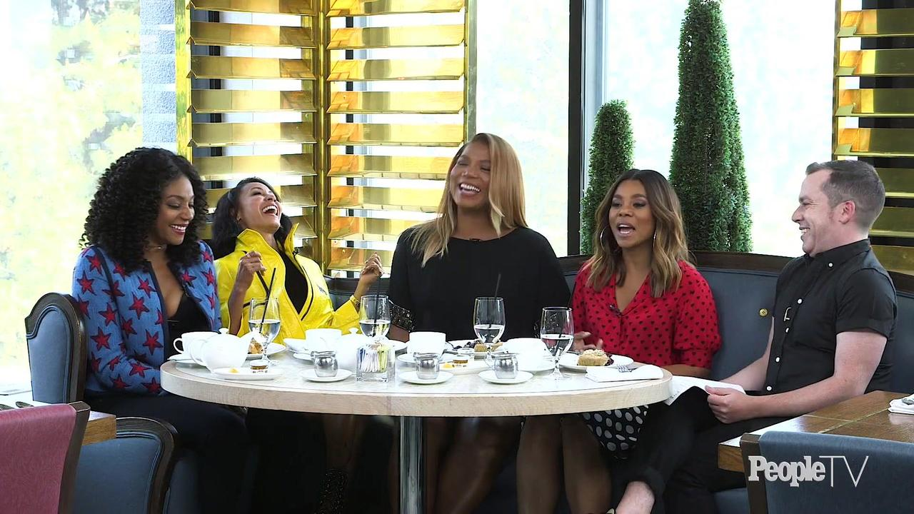 A Roundtable with the Cast of Girls Trip