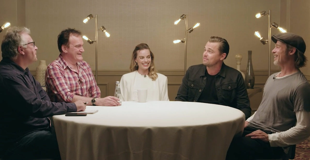 Around the Table with Once Upon A Time... In Hollywood