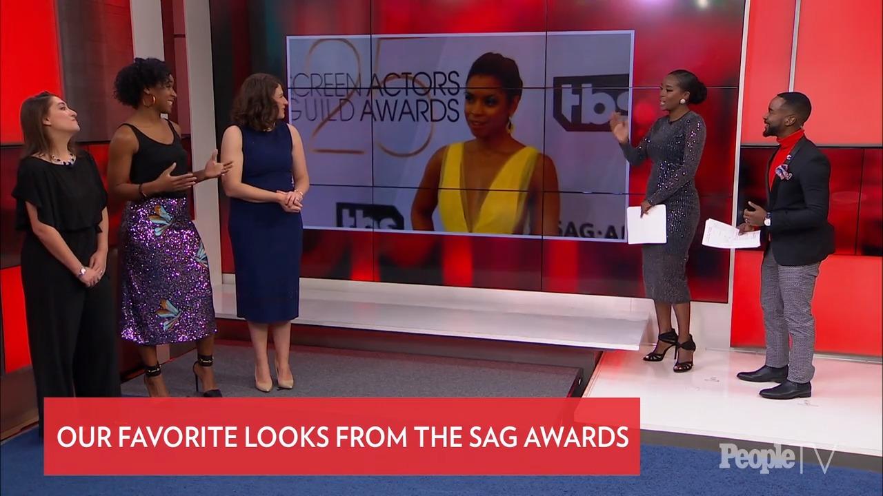 PEOPLE/Entertainment Weekly SAG Awards 2019 Fashion Wrap-Up