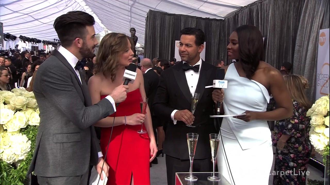PEOPLE/Entertainment Weekly & TNT Red Carpet Live: 25th Screen Actors Guild Awards